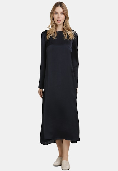 Usha Kleid in nachtblau, Modelansicht