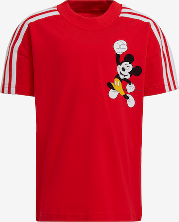 ADIDAS PERFORMANCE T-Shirt 'Mickey Mouse' in Rot