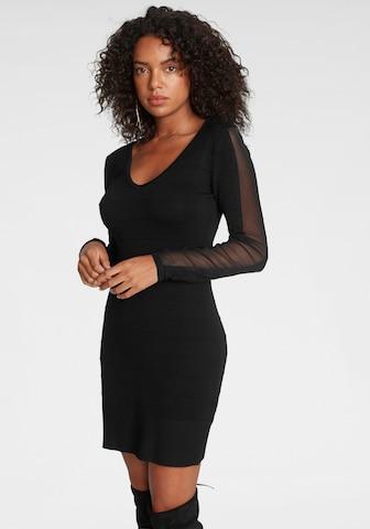MELROSE Evening Dress in Black