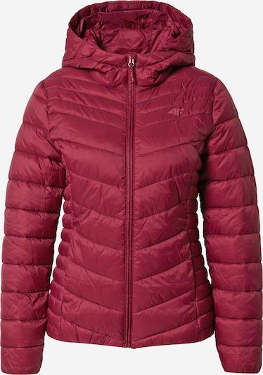 4F Športna jakna   vinsko rdeča barva, Prikaz izdelka