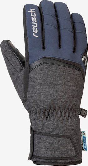 REUSCH Fingerhandschuh 'Balin R-TEX® XT' in blau / schwarzmeliert, Produktansicht