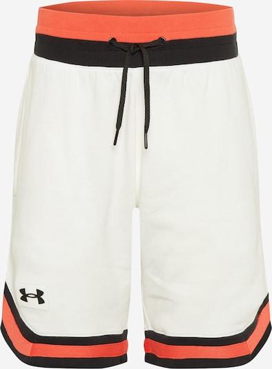 UNDER ARMOUR Pantalón deportivo en naranja / negro / blanco, Vista del producto