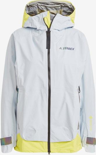 adidas Terrex Jacke in gelb / offwhite, Produktansicht