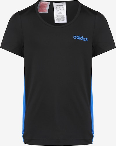 ADIDAS PERFORMANCE Trainingsshirt in blau / schwarz, Produktansicht