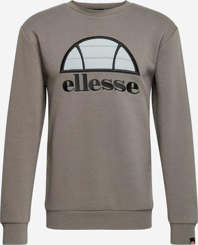 ELLESSE Sweatshirt 'MANTO' in grau / hellgrau / schwarz, Produktansicht