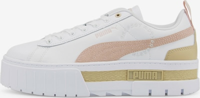 PUMA Sneaker 'Mayze Downtown' in kitt / puder / weiß, Produktansicht