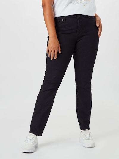 Vero Moda Curve Jeans 'Manya' in de kleur Zwart, Modelweergave