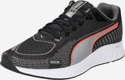 PUMA Zapatillas de running en gris / naranja / negro, Vista del producto