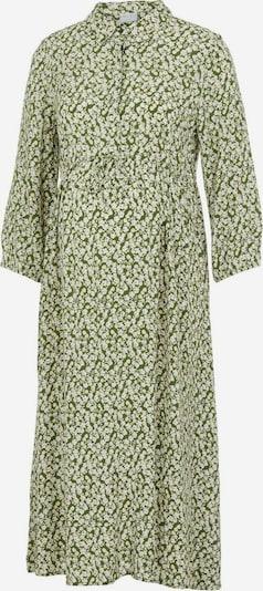 MAMALICIOUS Kleid in beige / oliv / weiß, Produktansicht