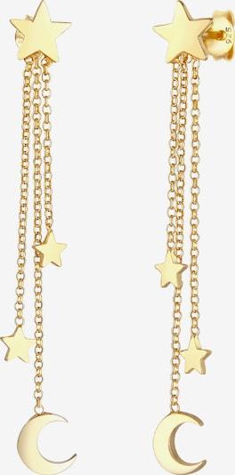 ELLI Ohrringe Astro, Sterne in gold, Produktansicht