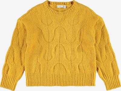 NAME IT Pullover in goldgelb, Produktansicht