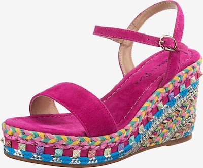 Alma En Pena Sandale in mischfarben / fuchsia, Produktansicht
