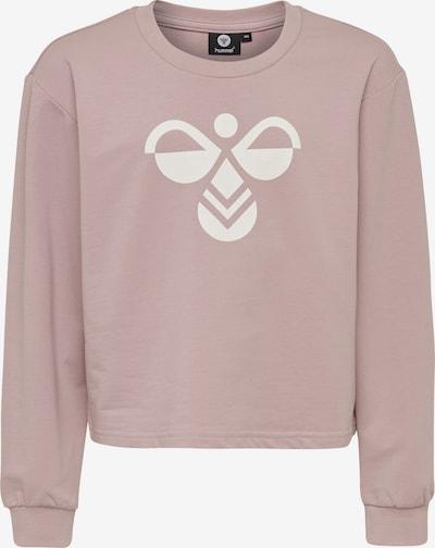 Hummel Sportsweatshirt in pink / weiß, Produktansicht