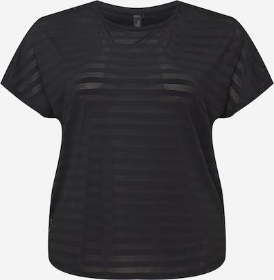Only Play Curvy Sportshirt 'ANUR' in schwarz, Produktansicht