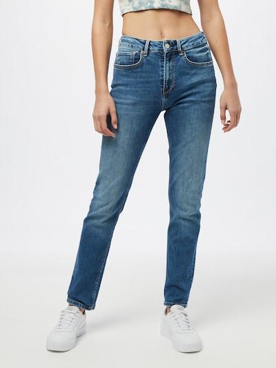 Pepe Jeans Jean 'MARY' en bleu denim, Vue avec modèle