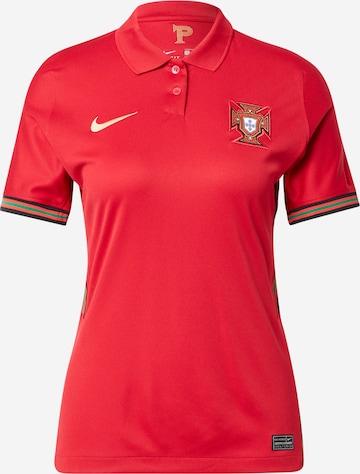 NIKE Spordisärk 'Portugal 2020 Stadium Home', värv punane