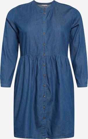 ABOUT YOU Curvy Sukienka koszulowa 'Anusha' w kolorze niebieski