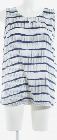 BELLYBUTTON ärmellose Bluse in XS-XL in dunkelblau / wollweiß, Produktansicht