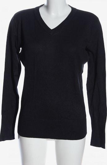 Laura T. V-Ausschnitt-Pullover in L in blau, Produktansicht
