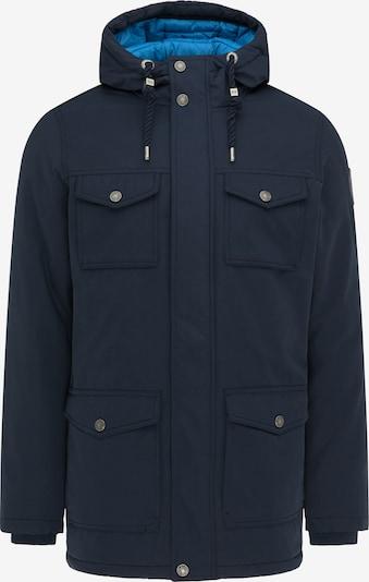 MO Winterjas in de kleur Lichtblauw / Donkerblauw, Productweergave