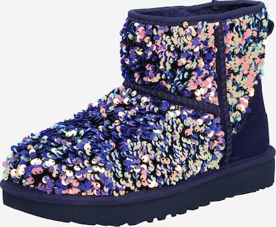 UGG Botas de nieve en lila oscuro / mezcla de colores, Vista del producto