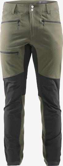 Haglöfs Outdoorhose 'Rugged Flex' in khaki / schwarz, Produktansicht