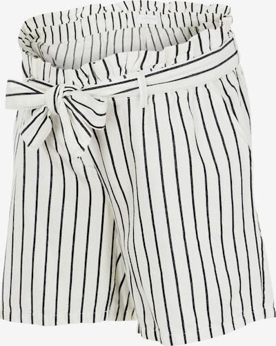 MAMALICIOUS Shorts 'Emmy' in schwarz / weiß, Produktansicht