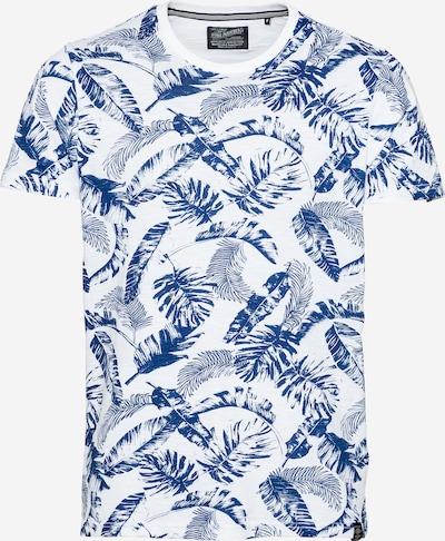 Petrol Industries Shirt in blau / naturweiß, Produktansicht