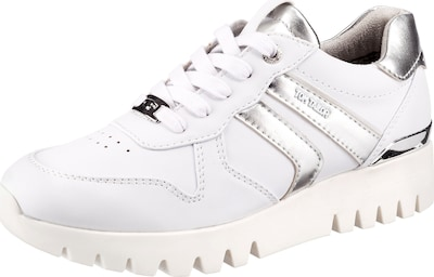 TOM TAILOR Sneakers Low in weiß, Produktansicht