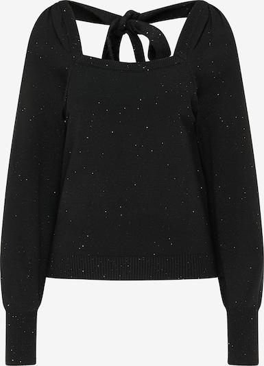 myMo at night Pullover in schwarz, Produktansicht