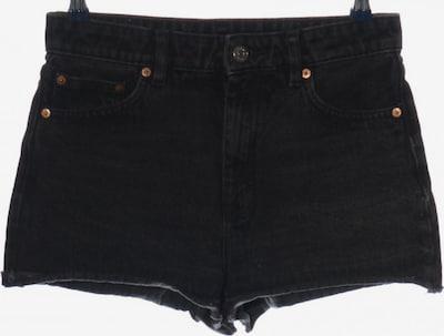MONKI Jeansshorts in M in schwarz, Produktansicht
