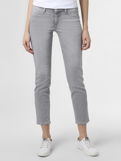 Cambio Jeans 'Posh' in grey denim, Modelansicht