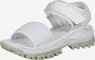FILA Sandale in grau / weiß, Produktansicht