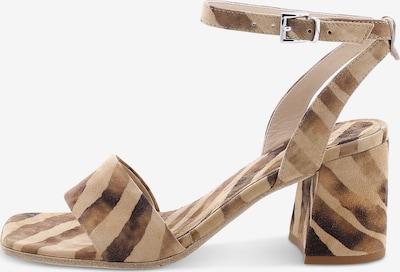 Kennel & Schmenger Sandale 'LOU' in braun / hellbraun, Produktansicht