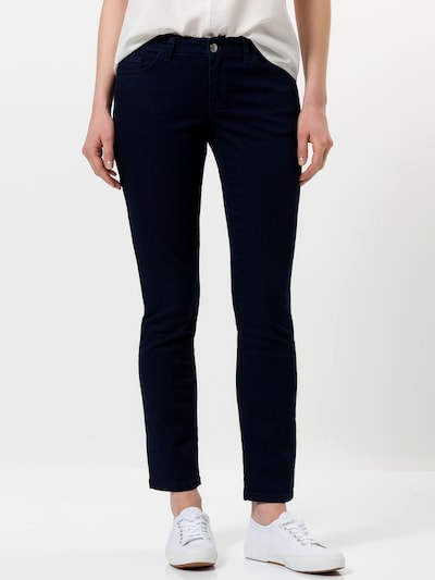 zero Jeans in dunkelblau, Modelansicht