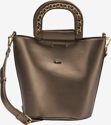 faina Handbag in Bronze