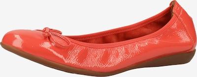 Wonders Ballerina in orangerot, Produktansicht