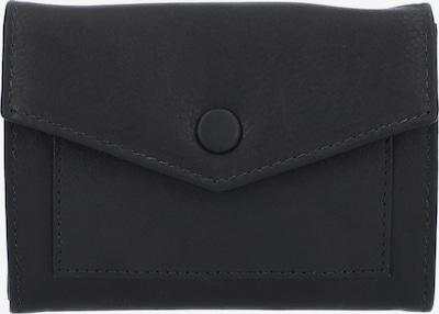 Gusti Leder Portemonnee 'Everett' in de kleur Zwart, Productweergave