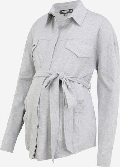 Missguided Maternity Chemisier en gris clair, Vue avec produit