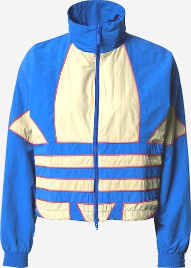ADIDAS ORIGINALS Jacke in creme / blau / pink, Produktansicht