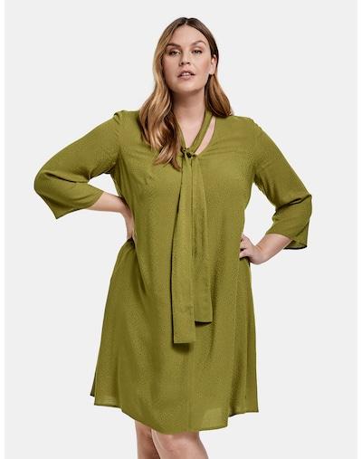Rochie SAMOON pe verde, Vizualizare model