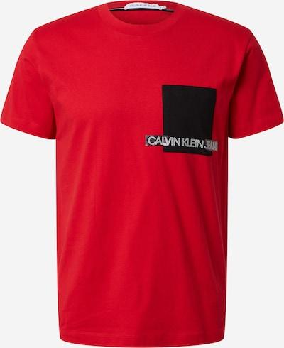 Calvin Klein Koszulka w kolorze czerwony / czarny / białym, Podgląd produktu