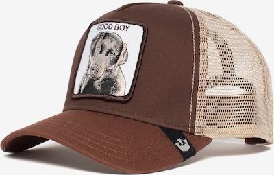 GOORIN Bros. Cap in braun / weiß, Produktansicht