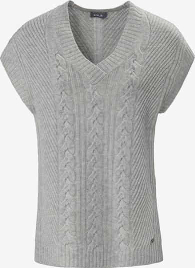 Basler Pullover in grau, Produktansicht