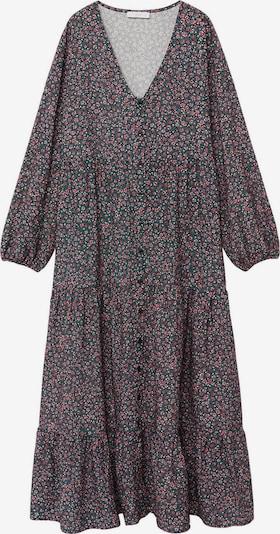 MANGO KIDS Kleid 'Jorja' in dunkelgrau / dunkelpink, Produktansicht