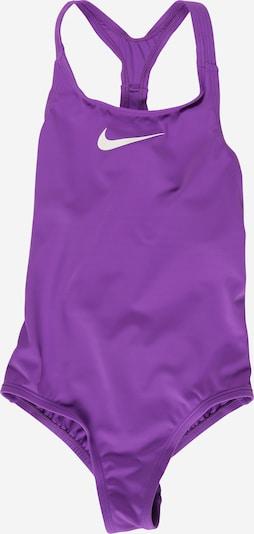Abbigliamento da mare sportivo NIKE di colore lilla scuro / bianco, Visualizzazione prodotti