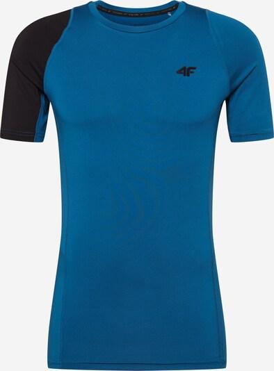 4F Funkcionalna majica | mornarska / črna barva, Prikaz izdelka