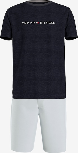 TOMMY HILFIGER Pyjama kort in de kleur Beige / Lichtblauw / Donkerblauw / Rood / Wit, Productweergave