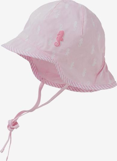 MAXIMO Schirmmütze in hellpink / weiß, Produktansicht