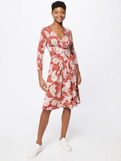 ILSE JACOBSEN Kleid in blutrot / weiß, Modelansicht